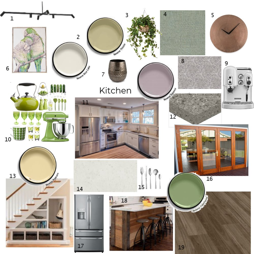 Kitchen Interior Design Mood Board by kirstylee on Style Sourcebook