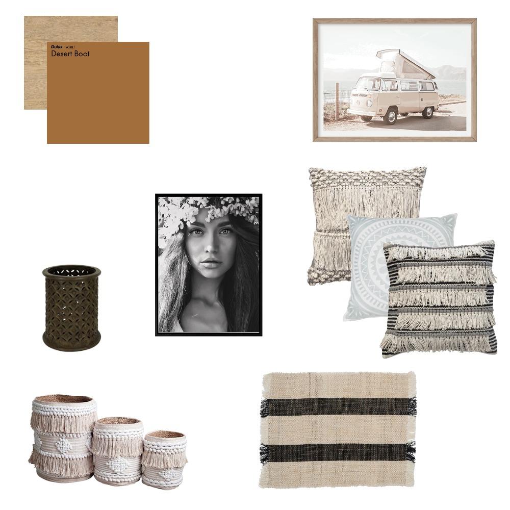 Bohemian Decor Interior Design Mood Board by Seasand.interiors on Style Sourcebook