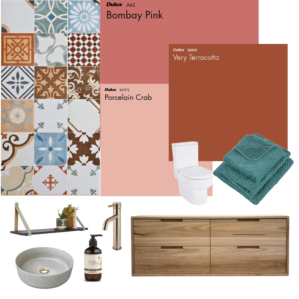 Womens toilet Interior Design Mood Board by freyajpugh on Style Sourcebook