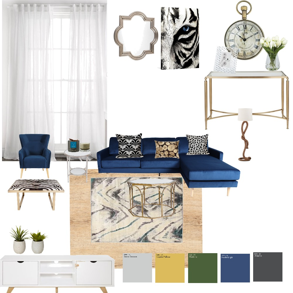living room Interior Design Mood Board by ronakdoshi on Style Sourcebook