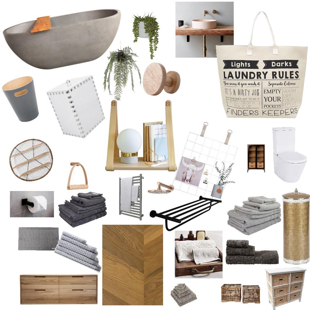 Mon's dream bathroom Interior Design Mood Board by KEL0037 on Style Sourcebook