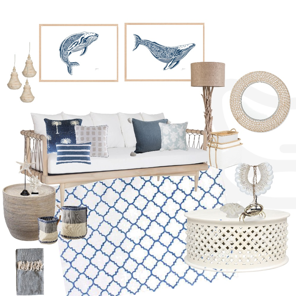 Coastal Mood Board Interior Design Mood Board by My Interior Stylist on Style Sourcebook