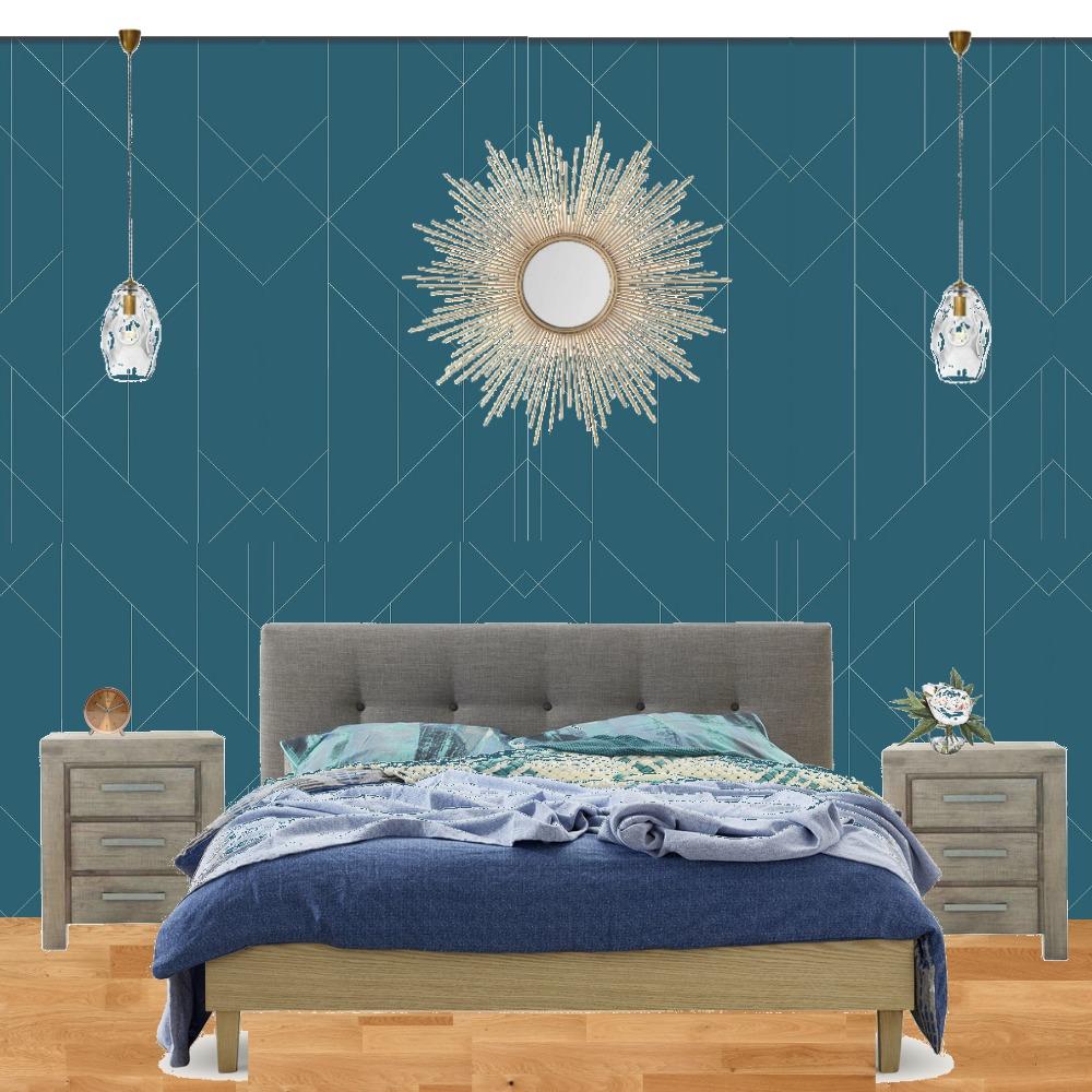 Bedroom Clichy1 Interior Design Mood Board by Daria on Style Sourcebook