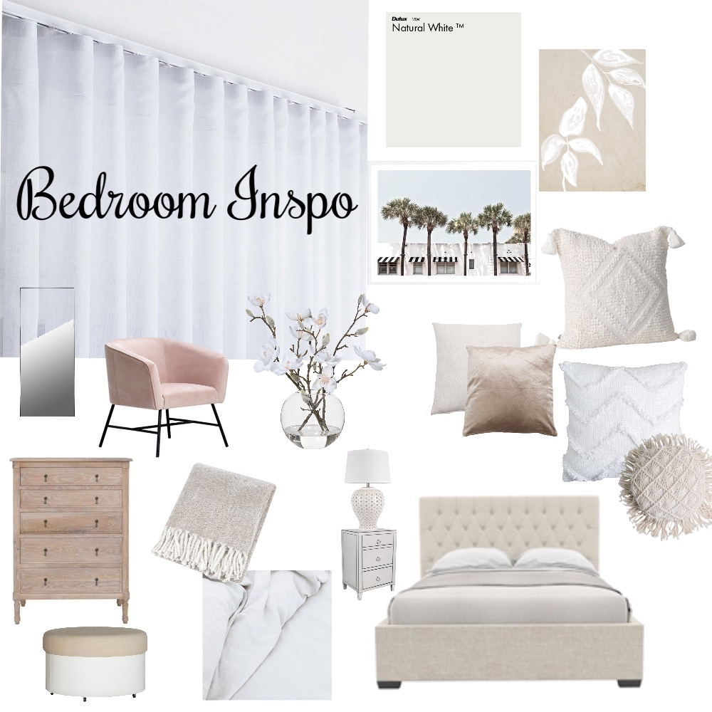 Bedroom Inspo Interior Design Mood Board by dannielledimit on Style Sourcebook