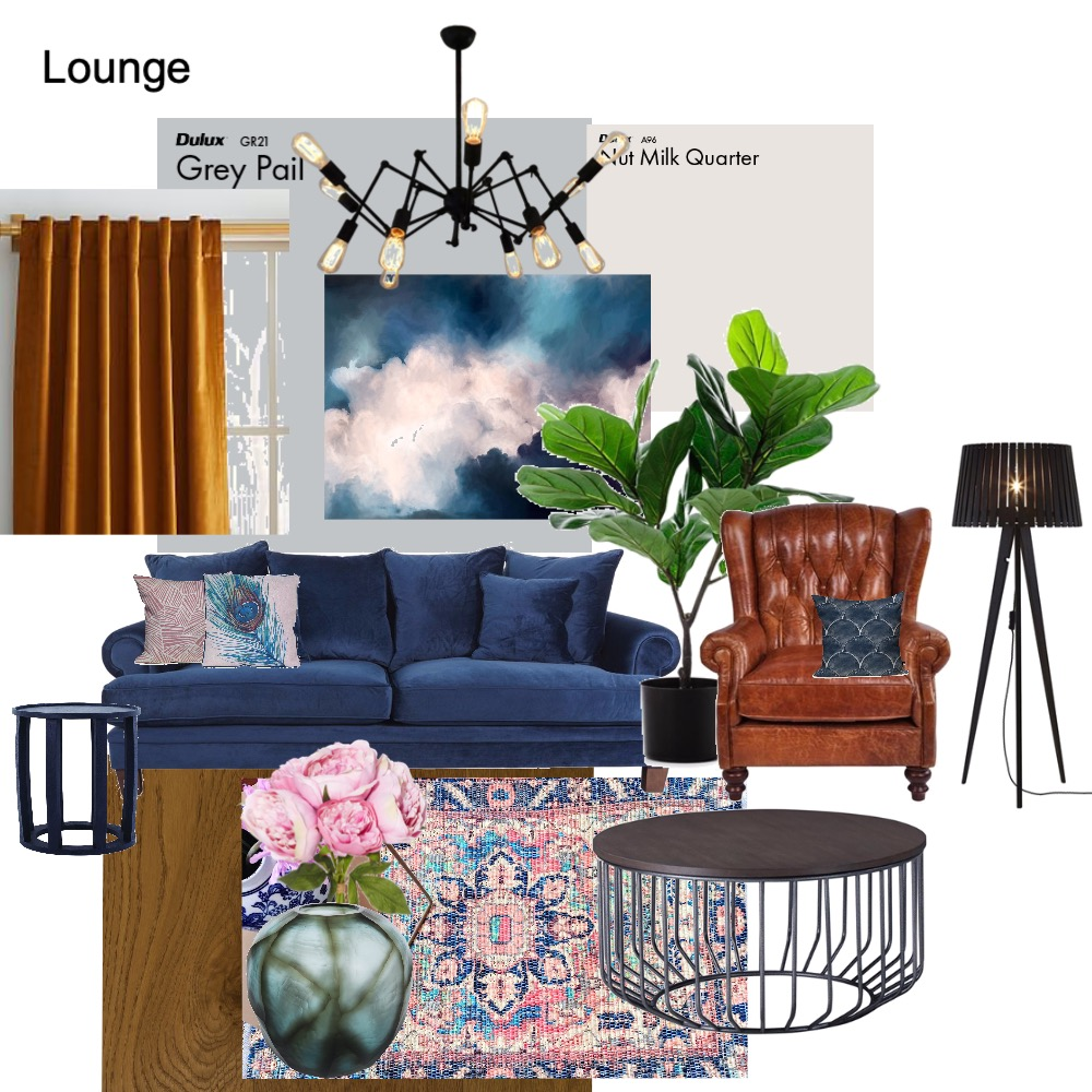 Lounge Interior Design Mood Board by Dwaynus on Style Sourcebook