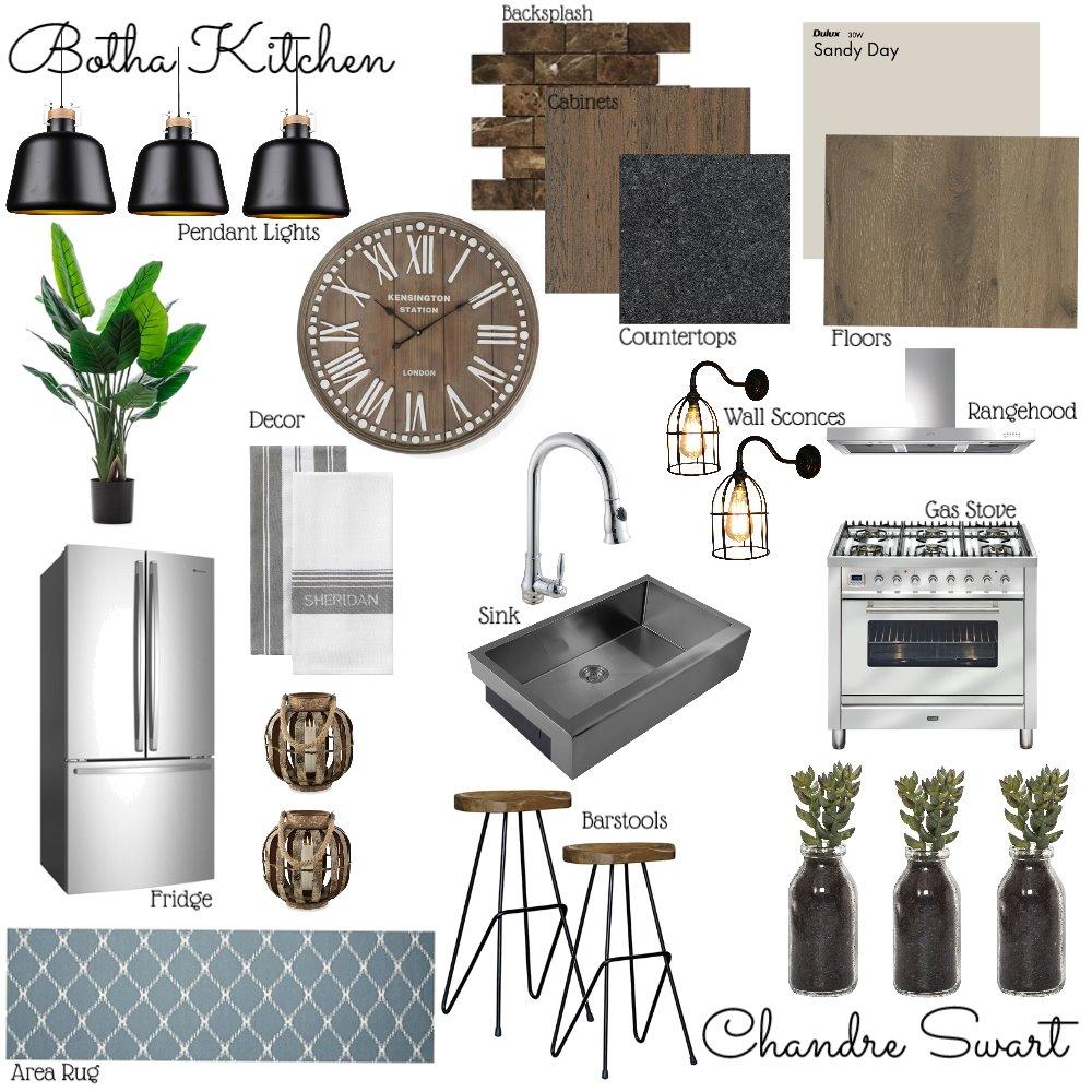 Botha Kitchen Interior Design Mood Board by ChandreSwart on Style Sourcebook