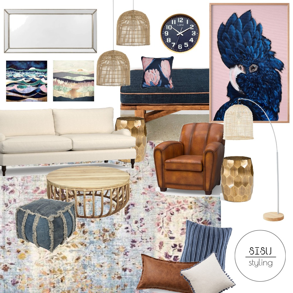 Hamptons twist Interior Design Mood Board by Sisu Styling on Style Sourcebook