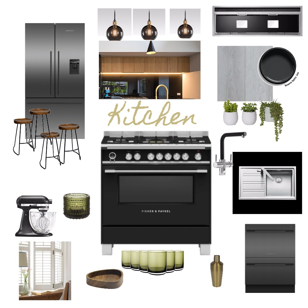 Kitchen Moodboard IDIAss9 Interior Design Mood Board by aimeeomy on Style Sourcebook
