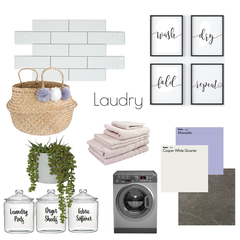 Laundry Interior Design Mood Board by juliane_b on Style Sourcebook