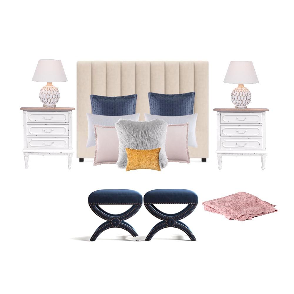 Chloe's Bedroom Interior Design Mood Board by Sed on Style Sourcebook