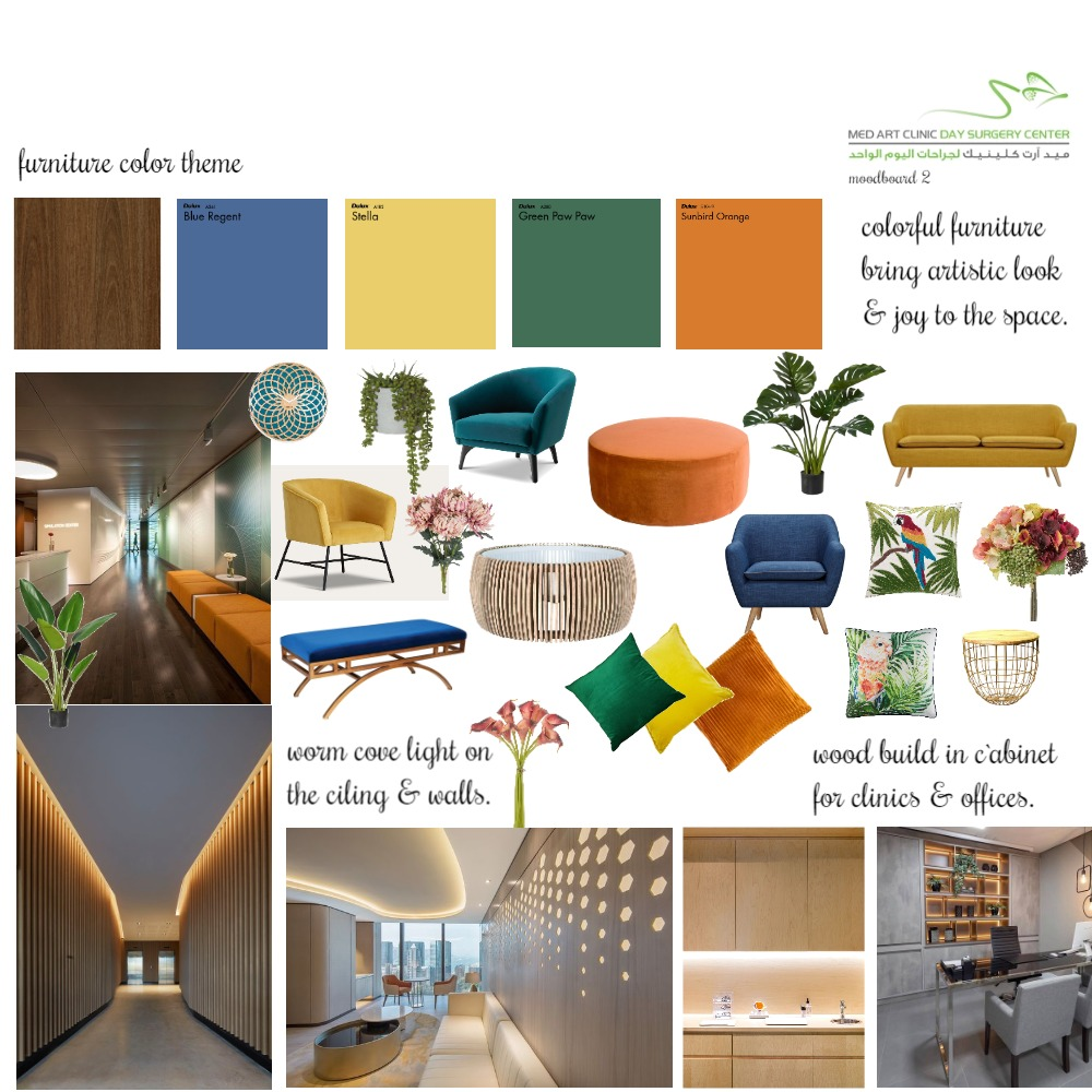 med art wood with colors 3 Interior Design Mood Board by afnan82 on Style Sourcebook
