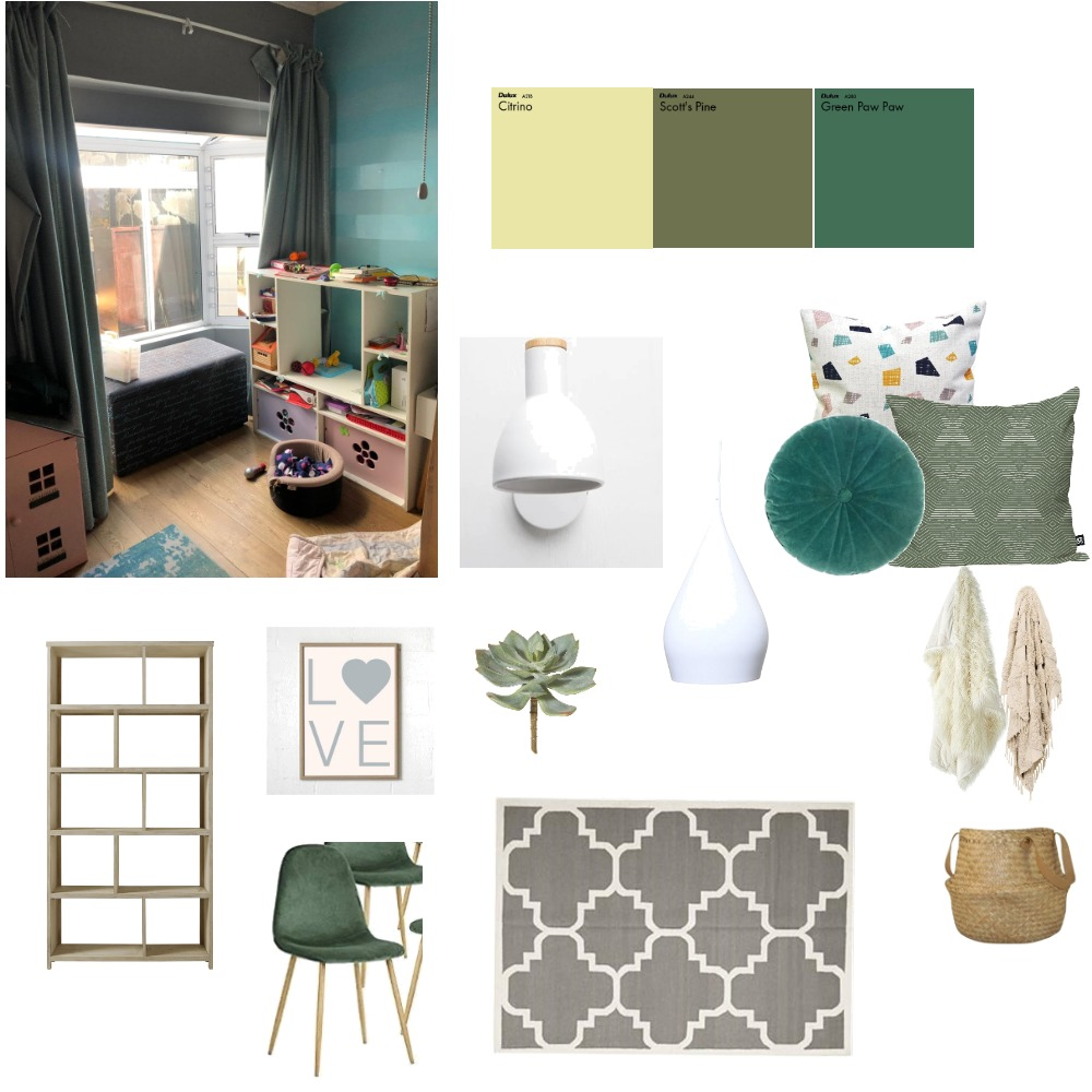 GIRLS ROOM Interior Design Mood Board by Alinane1 on Style Sourcebook