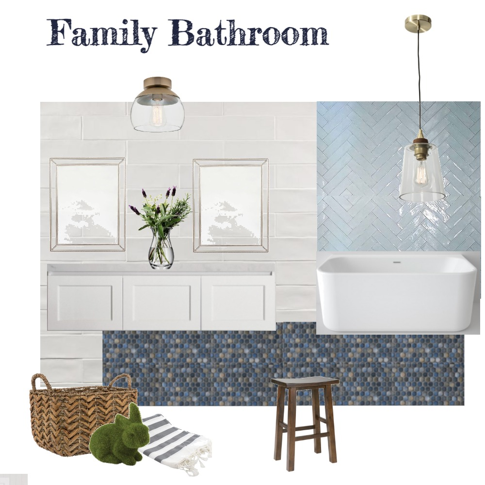 Family Bathroom v3 Interior Design Mood Board by aphraell on Style Sourcebook