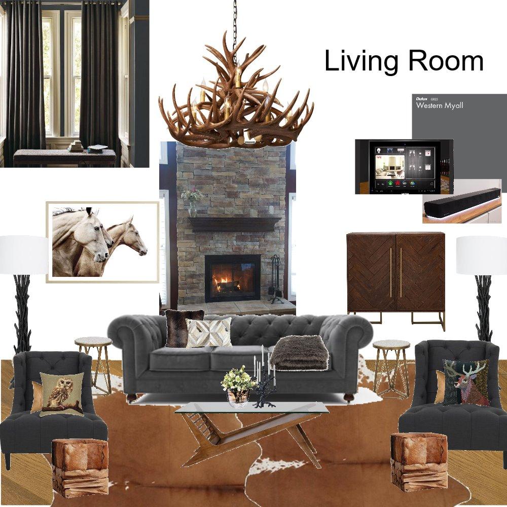 Refurb ski lodge living room #2 Interior Design Mood Board by Elements Aligned Interior Design on Style Sourcebook