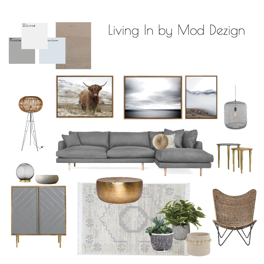 Living In by Mod Dezign Interior Design Mood Board by MODDEZIGN on Style Sourcebook