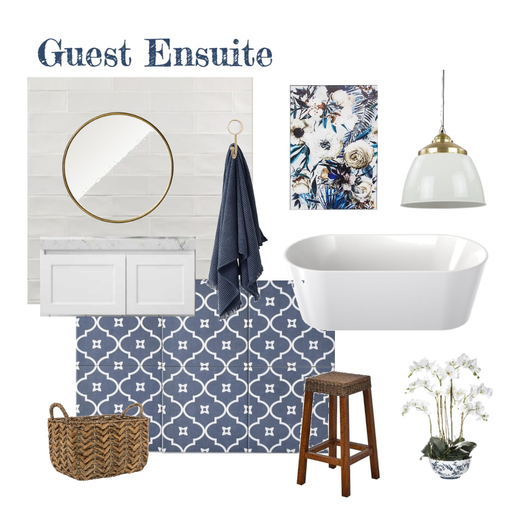 Guest Ensuite V3 Interior Design Mood Board by aphraell on Style Sourcebook