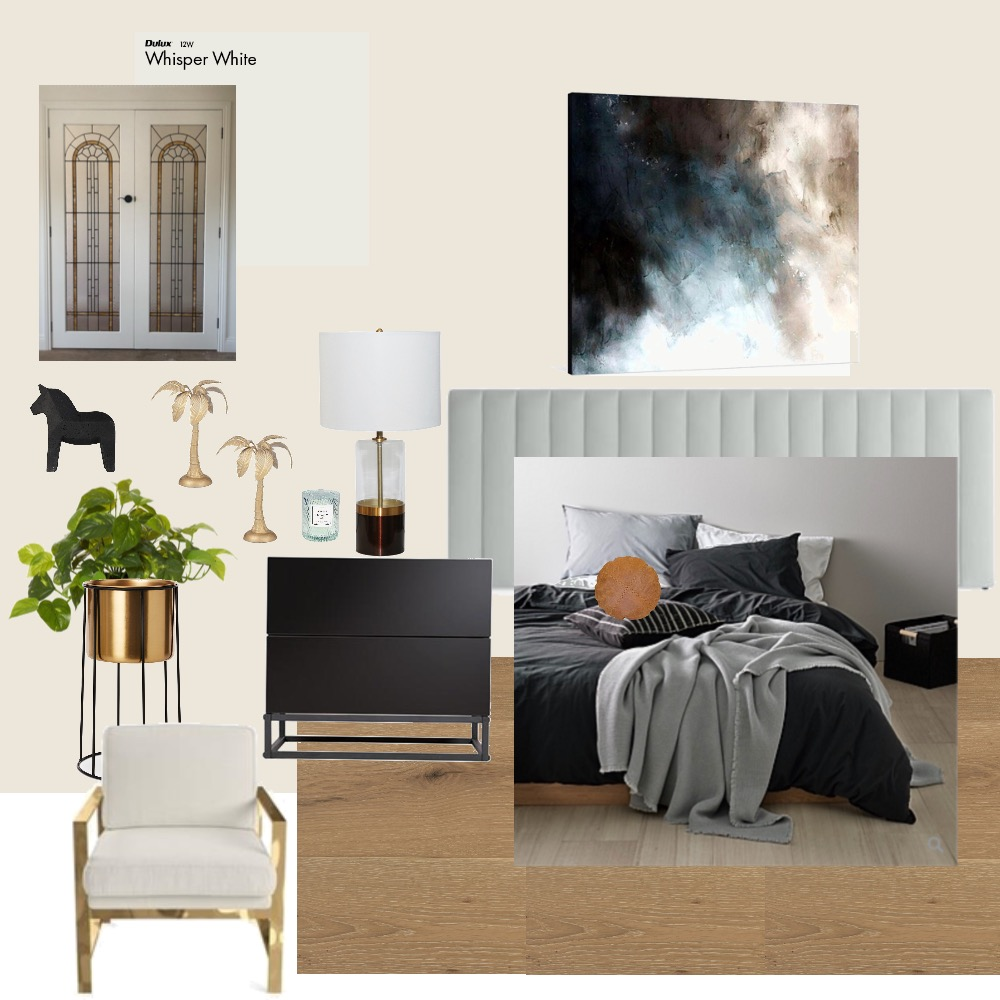 Californian pad bedroom Interior Design Mood Board by Moody Aesthetic Interiors on Style Sourcebook