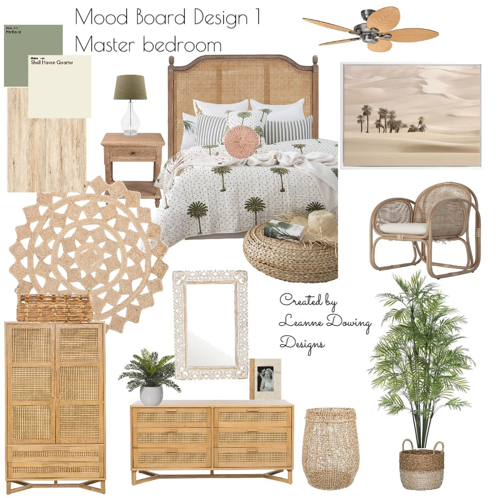 Master bedroom design 1 Interior Design Mood Board by leannedowling on Style Sourcebook