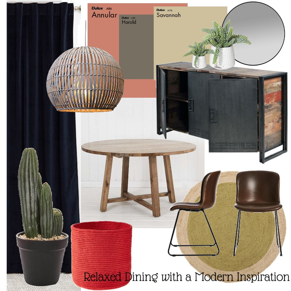 Dining room Interior Design Mood Board by CJGDesign on Style Sourcebook