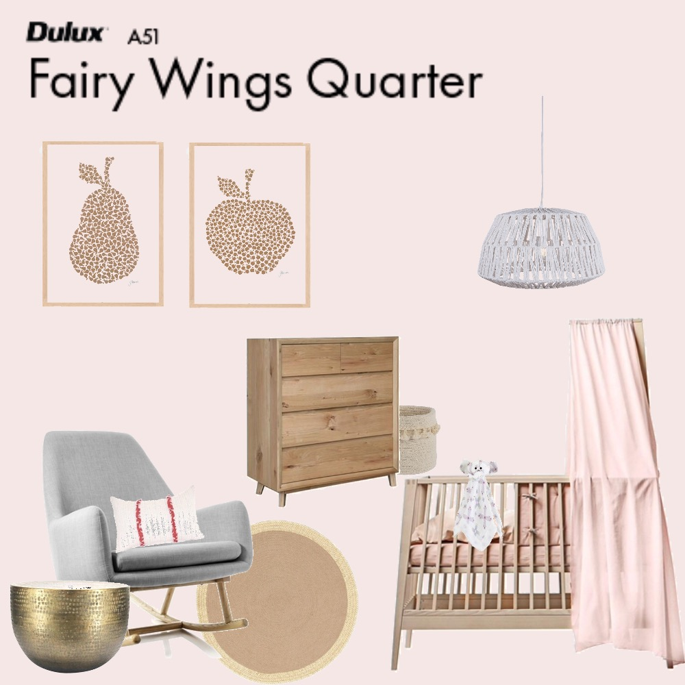 Nursery Interior Design Mood Board by Julieevely on Style Sourcebook