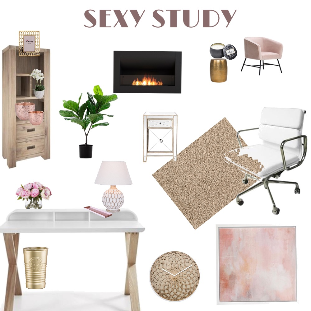 Study Interior Design Mood Board by MariaAnthopoulos on Style Sourcebook