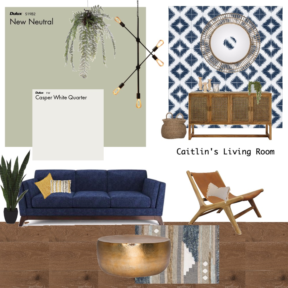 Caitlin's Living Room Interior Design Mood Board by Interiors by Teniel on Style Sourcebook