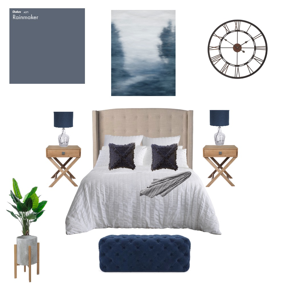 Kyaw & Siti Master Bedroom Interior Design Mood Board by keirarichesdesigns on Style Sourcebook