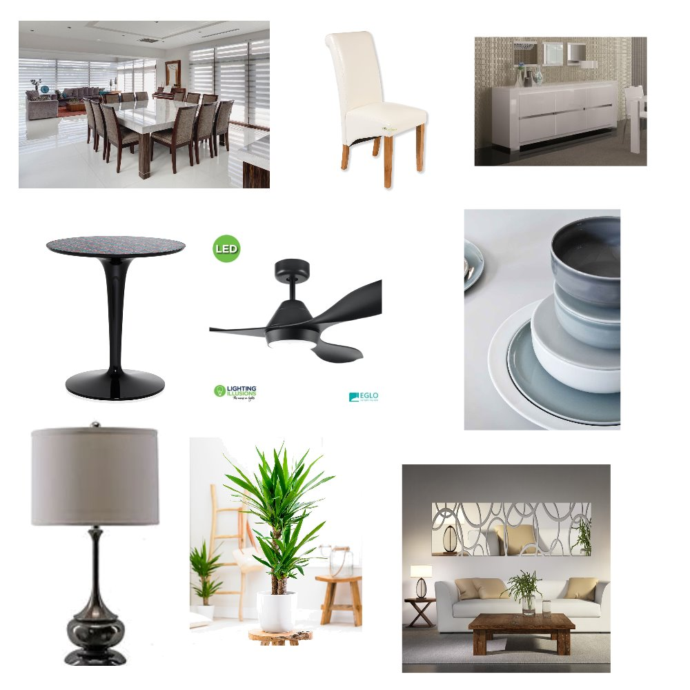 Dining room Interior Design Mood Board by amyjdoyle on Style Sourcebook