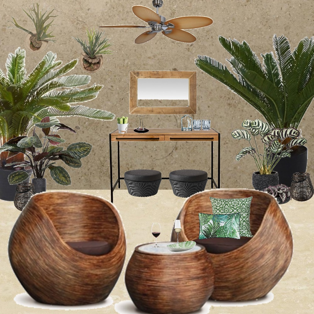 Alfresco Living Interior Design Mood Board by Jo Laidlow on Style Sourcebook
