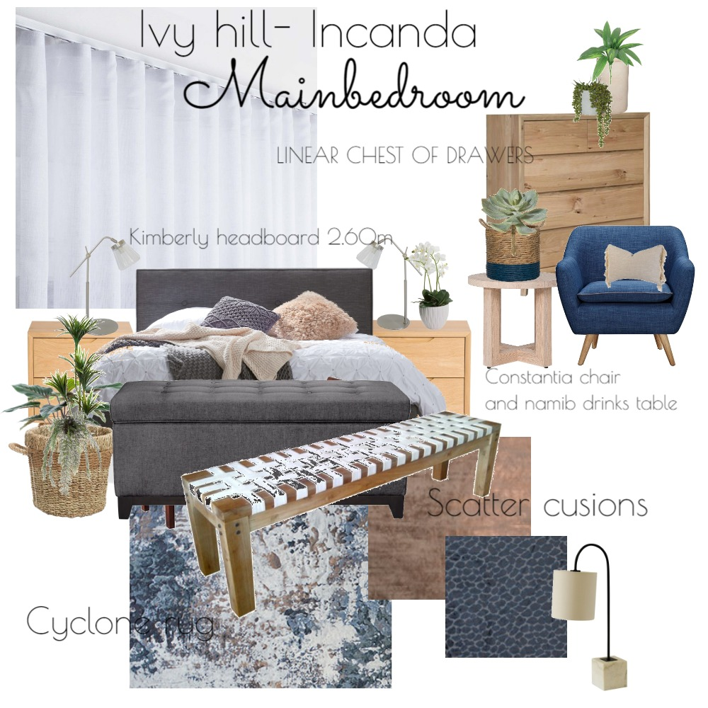 Incanda Ivy Hill Interior Design Mood Board by Marisa on Style Sourcebook
