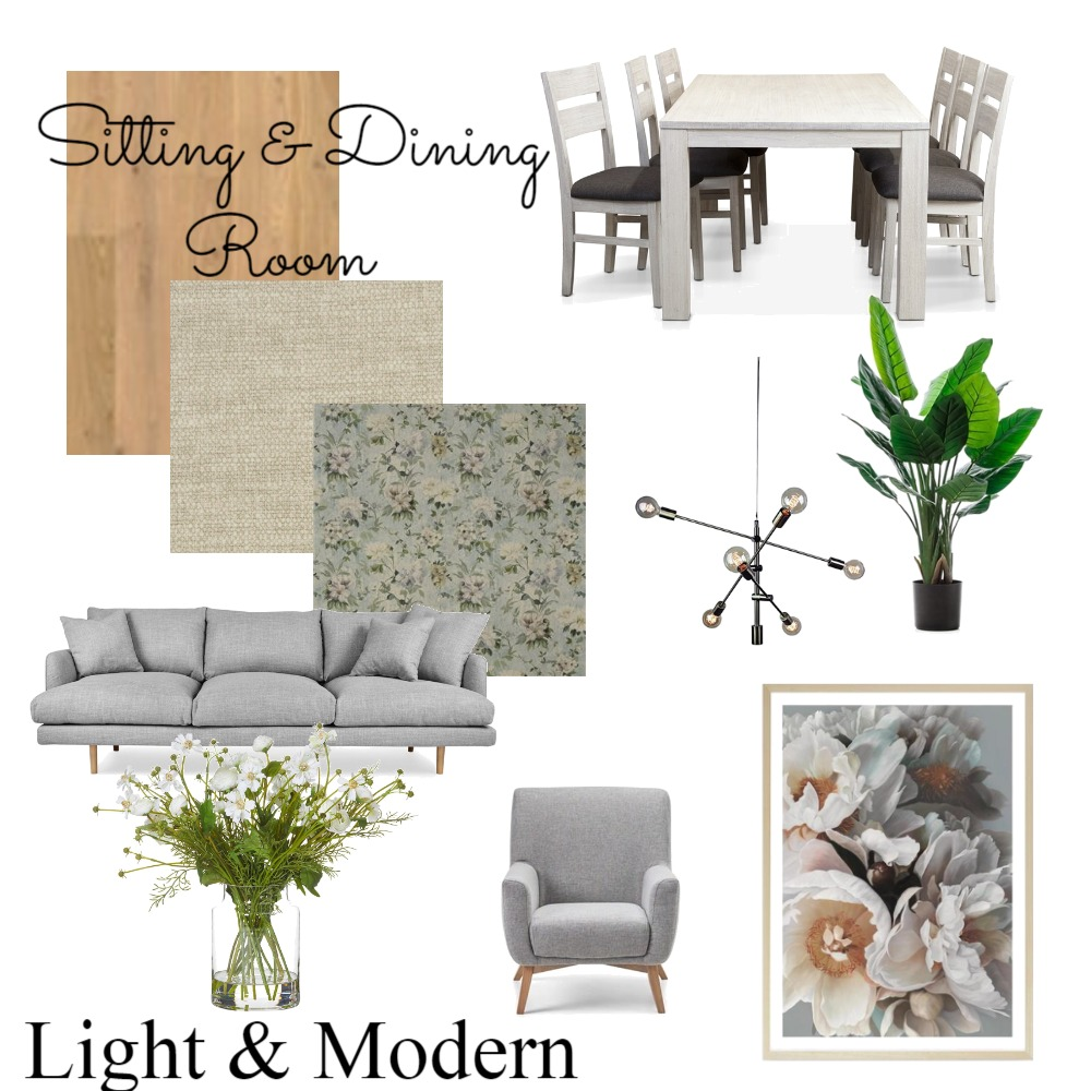 mod9 sitting/dining Mood Board by jasmine1 on Style Sourcebook