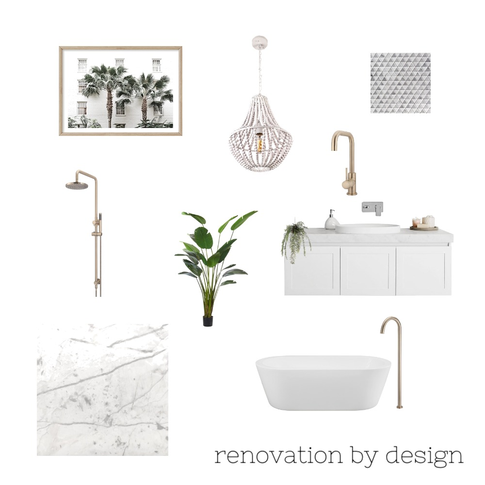 hamptons Mood Board by Renovation by Design on Style Sourcebook