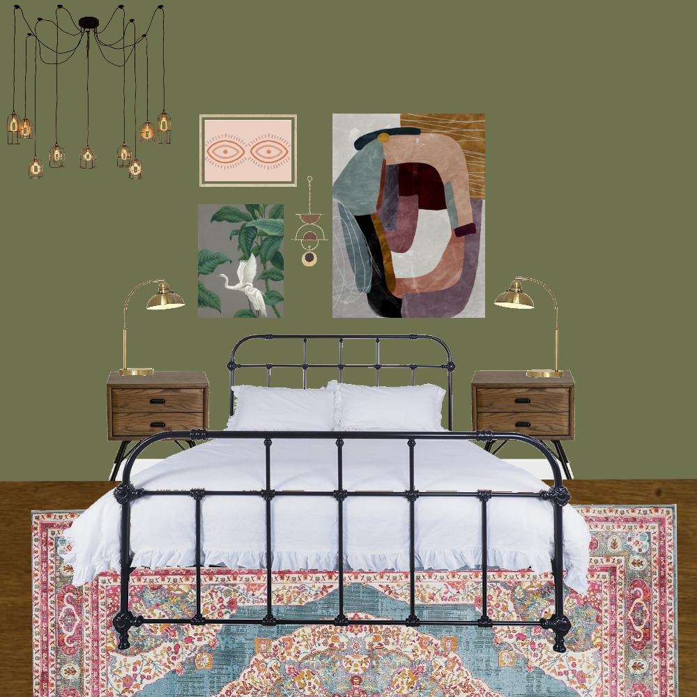 Dream Brief Bedroom - Wall 1 Mood Board by mick_will on Style Sourcebook