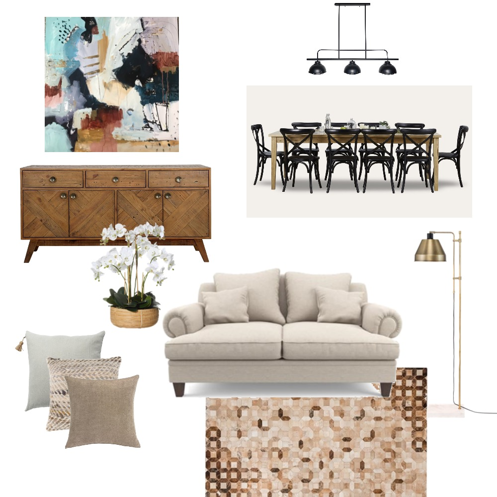 Modern farmhouse Mood Board by Simplestyling on Style Sourcebook