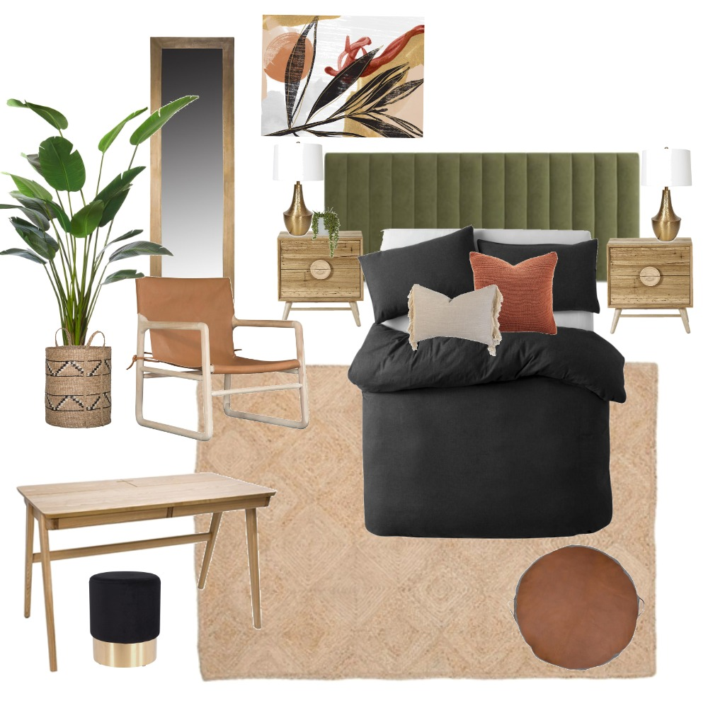bedroom concept Mood Board by Tessdemartino on Style Sourcebook