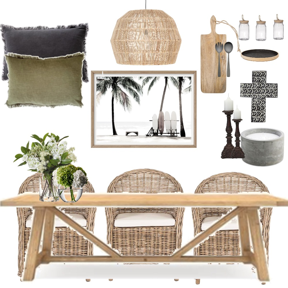Dining  timber & waves Mood Board by Oleander & Finch Interiors on Style Sourcebook