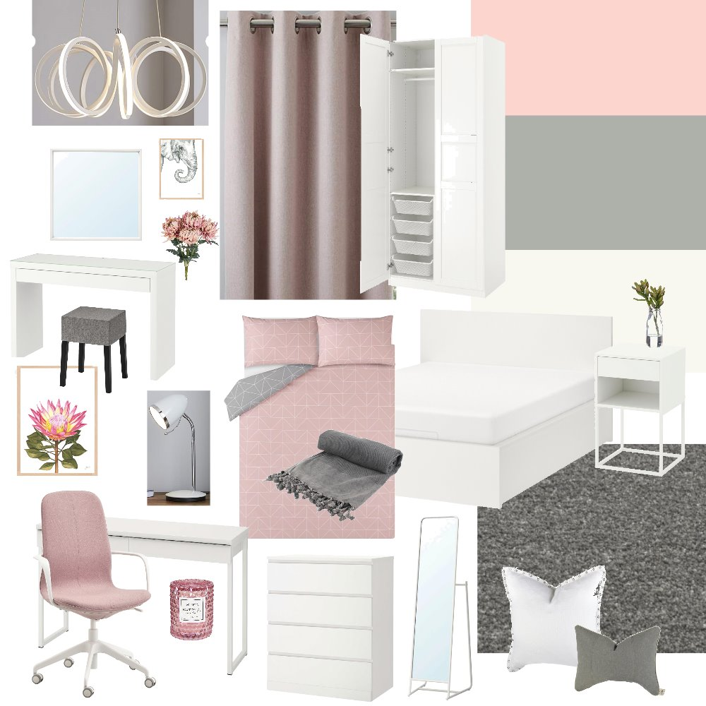 Miss Glenn's bedroom Mood Board by agodber on Style Sourcebook