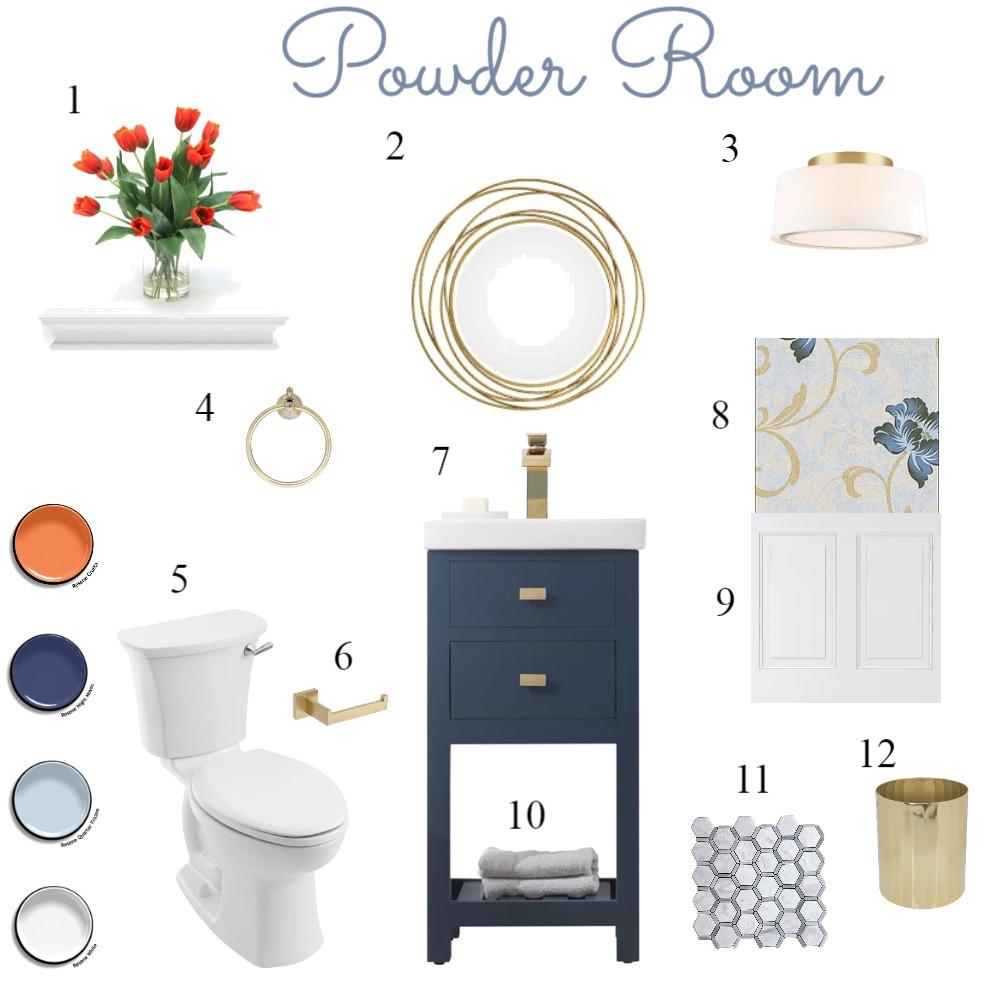 IDI Module 9 - Bathroom Mood Board by cynthiaknight on Style Sourcebook