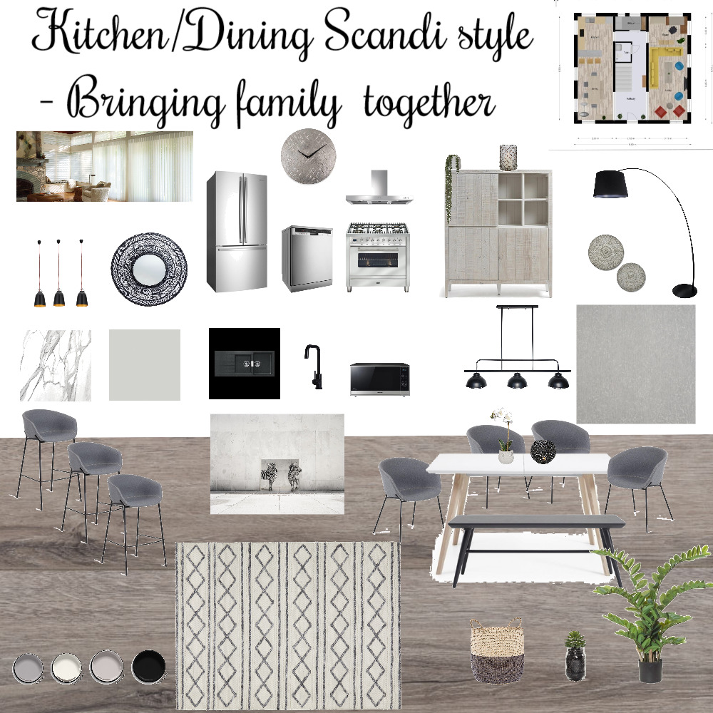 Kitchen/Dining Mood Board by alanabeauty on Style Sourcebook