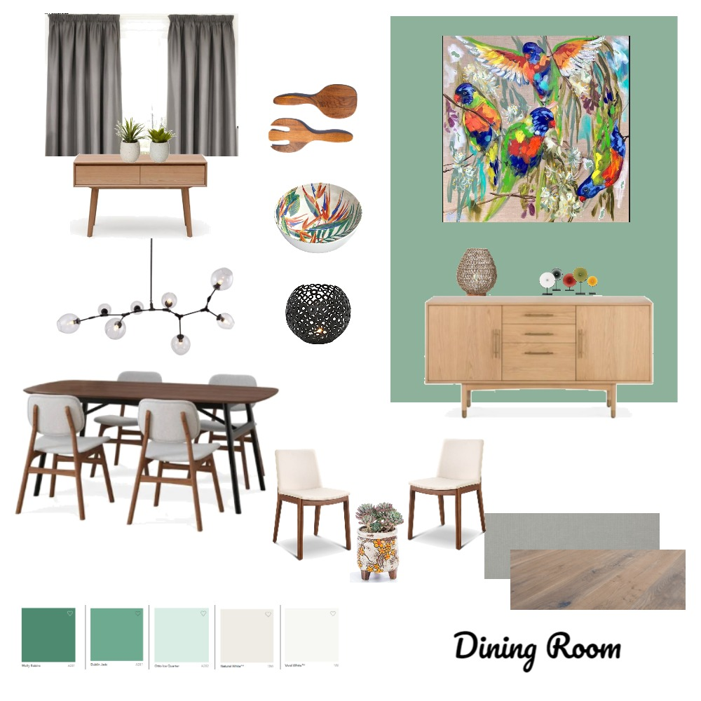 Dining Room Assignment 9 Interior Design Mood Board by Debster5150 on Style Sourcebook