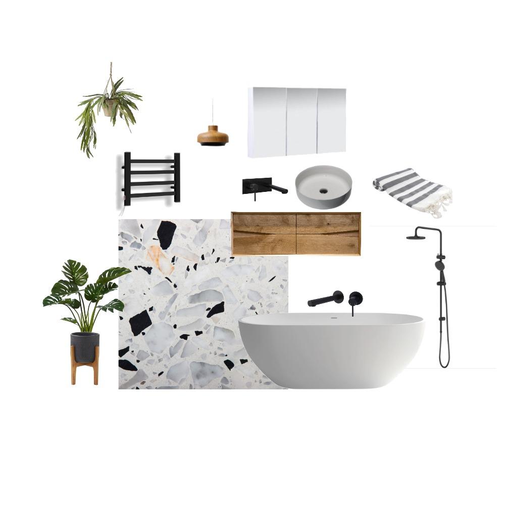 B&W Bathroom Mood Board by natalini on Style Sourcebook