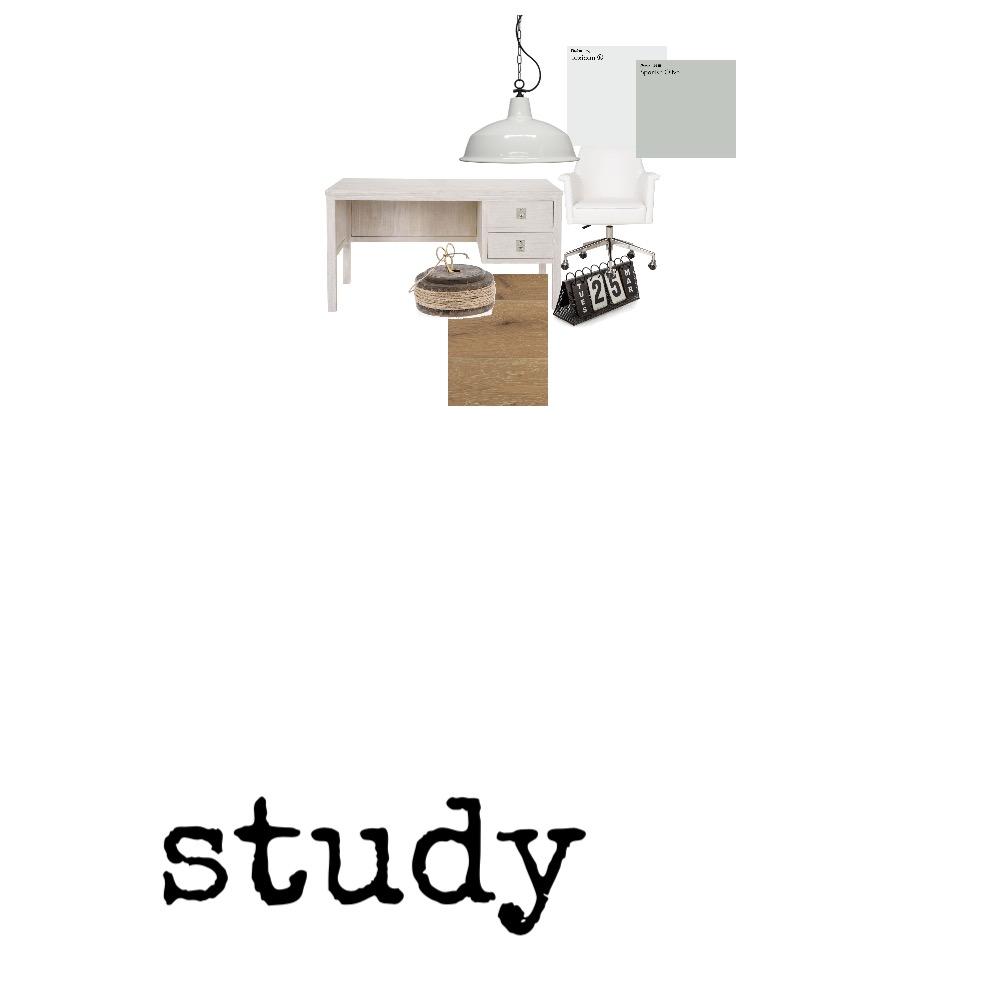 Hamptons Scandi Study Mood Board by StyleChic on Style Sourcebook