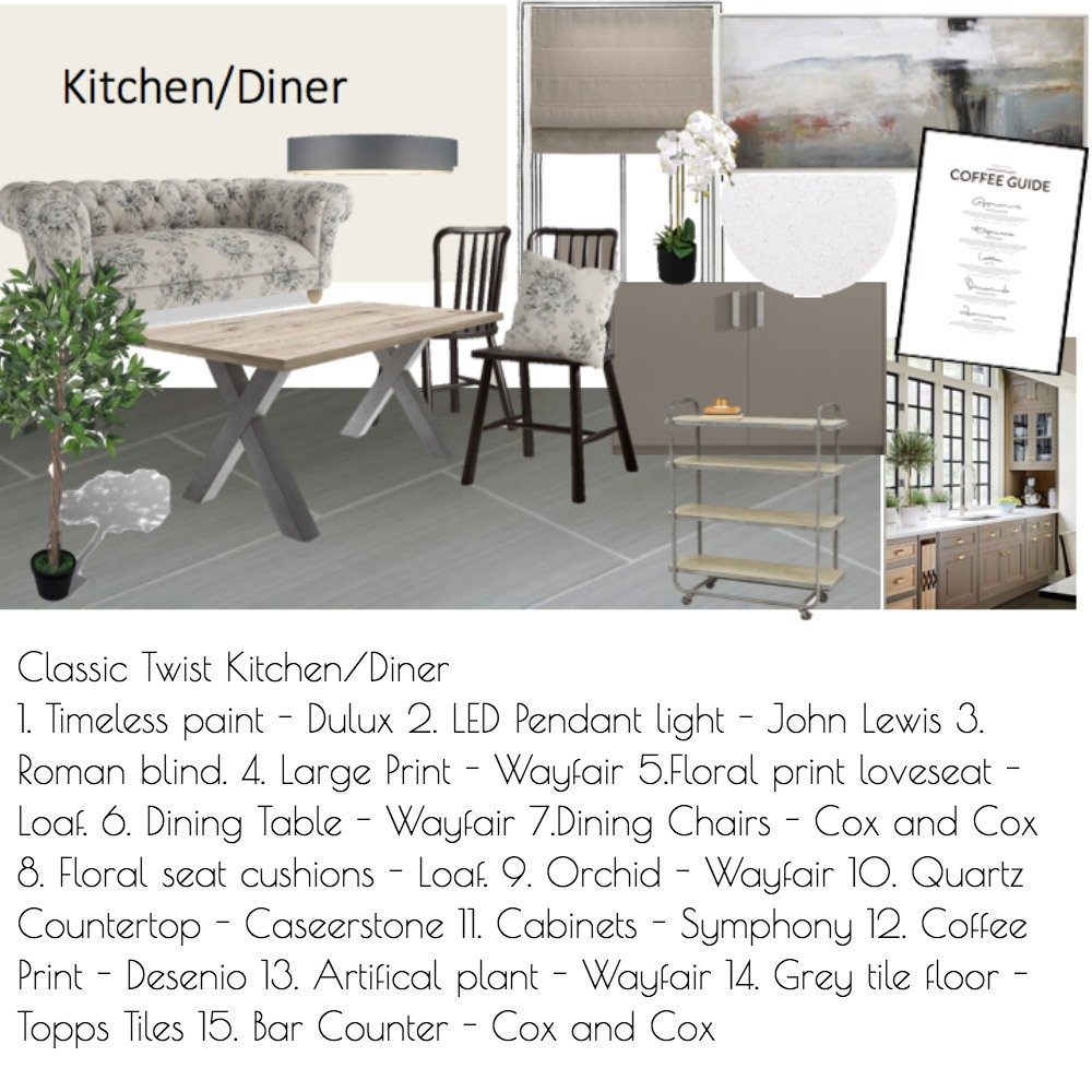 Kitchen Diner Mood Board by Daniellerobo on Style Sourcebook