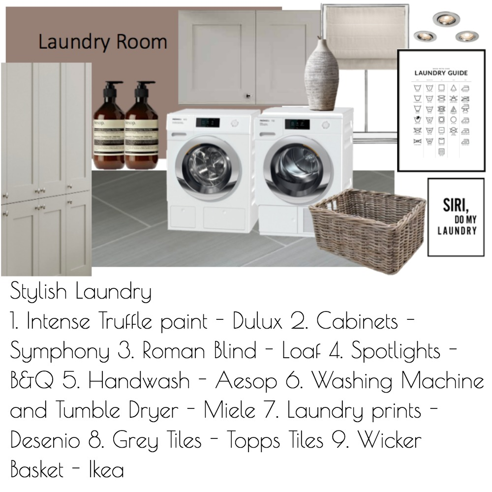 Laundry Room Mood Board by Daniellerobo on Style Sourcebook