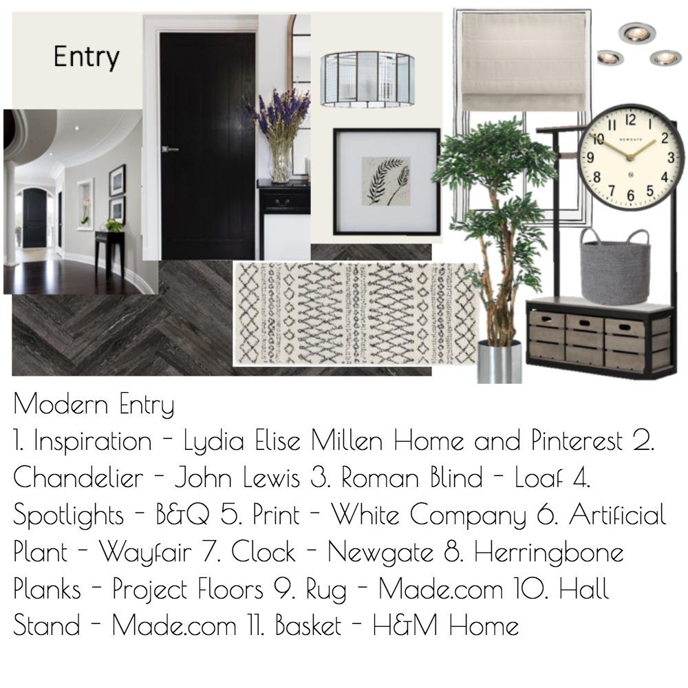 Modern Entry Mood Board by Daniellerobo on Style Sourcebook