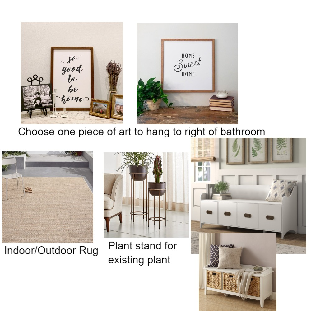 Beth's Mudroom Mood Board by ReStyle on Style Sourcebook