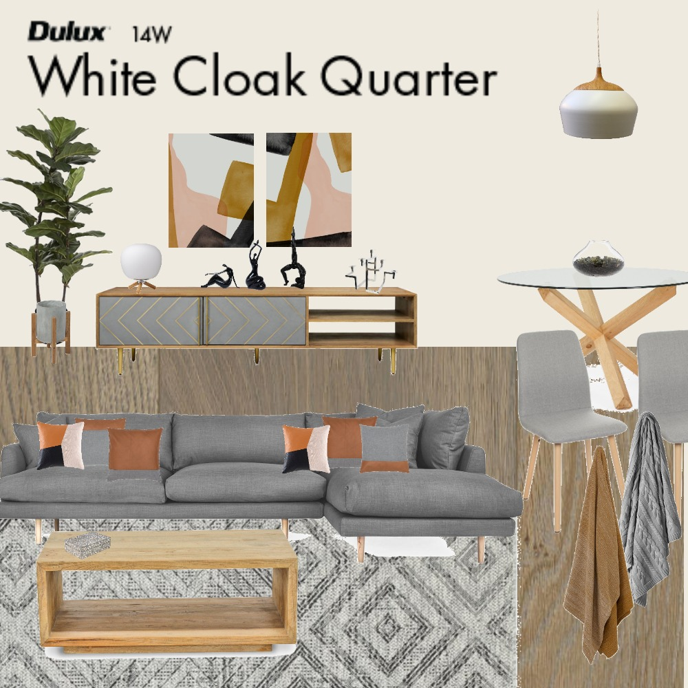 Mid Century Living in Grey Mood Board by Jo Laidlow on Style Sourcebook