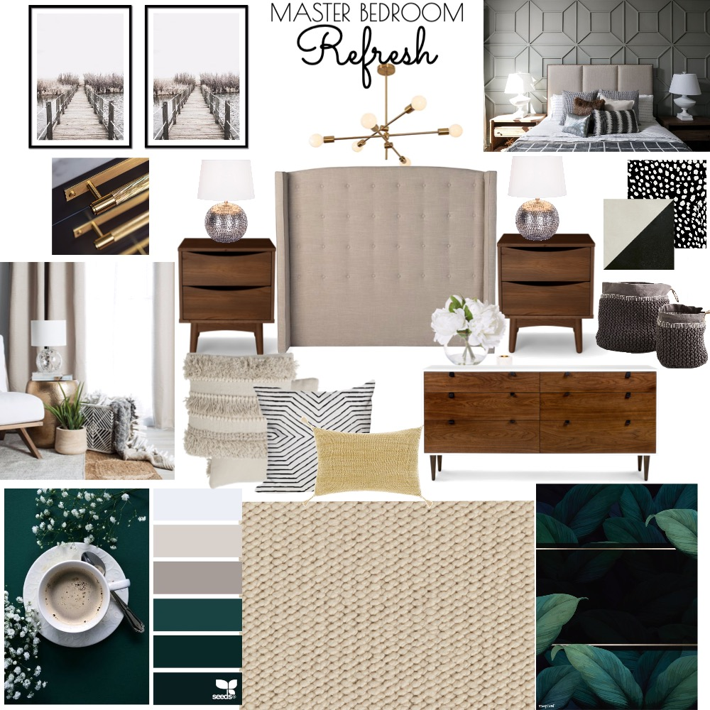 Master Bedroom Refresh Mood Board by Thelifestyleloft on Style Sourcebook
