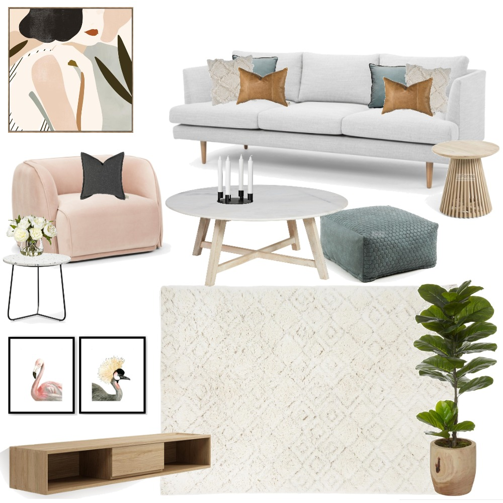 INGA LIVING ROOM Mood Board by TLC Interiors on Style Sourcebook