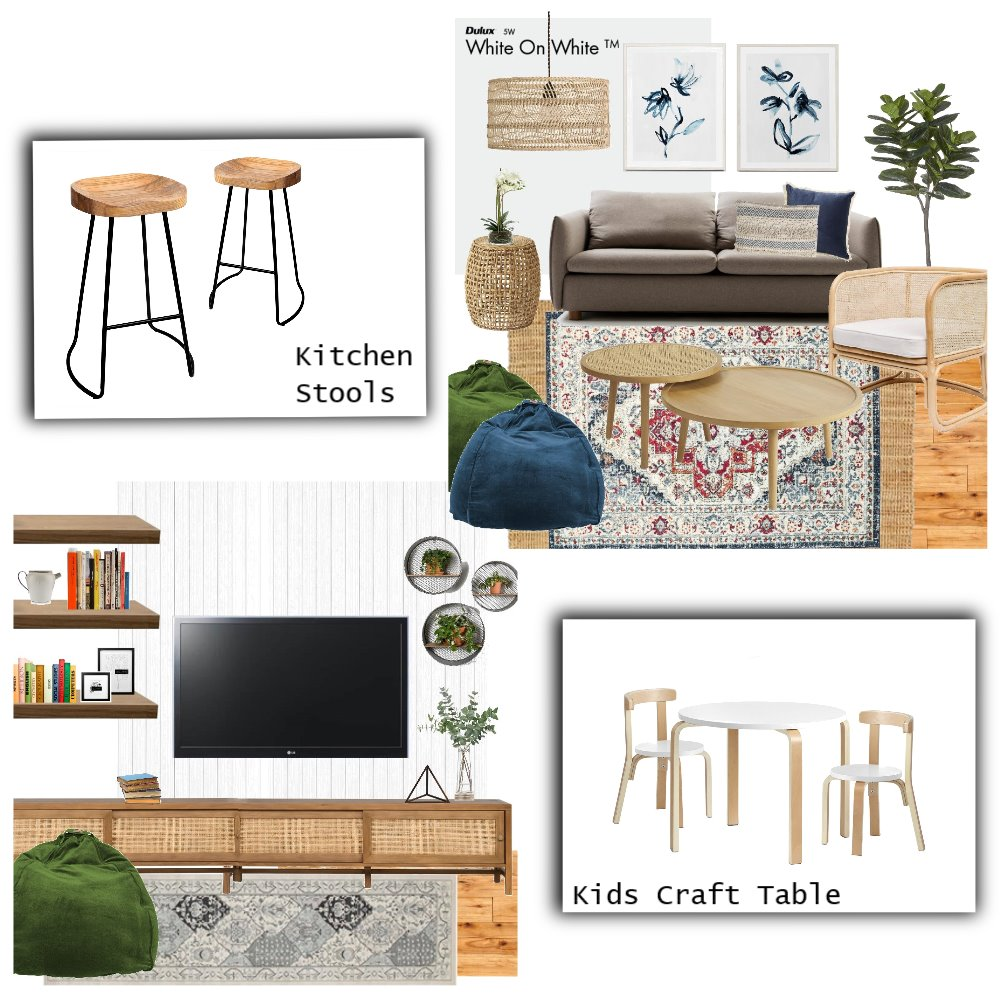 McDonnel - Overall Living Space Mood Board by Holm_and_Wood on Style Sourcebook